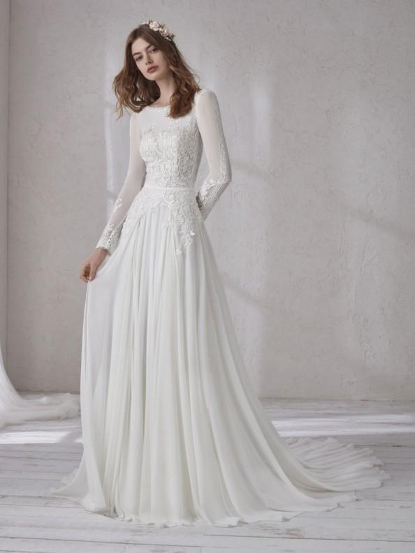 Svatební šaty Pronovias Maebry 2019