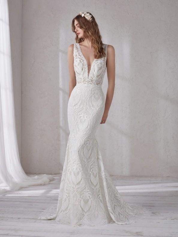 Svatební šaty Pronovias Magnolia 2019