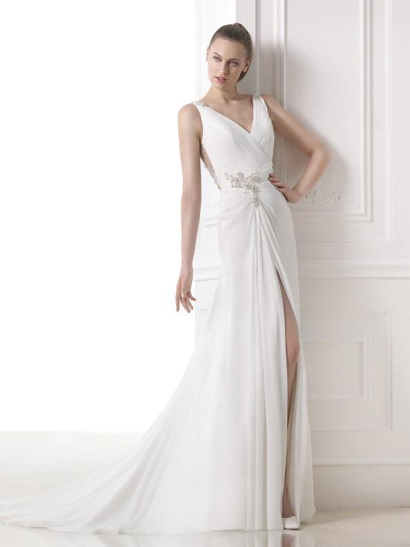 Svatební šaty Pronovias Maranta 2015