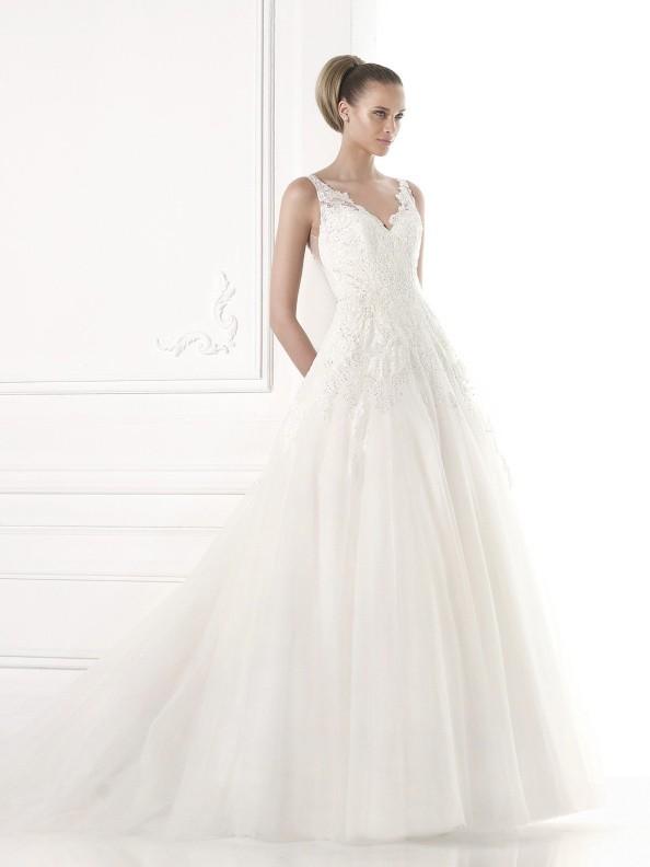 Svatební šaty Pronovias Mayumi 2015