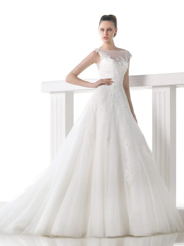 Svatební šaty Pronovias Mel 2015