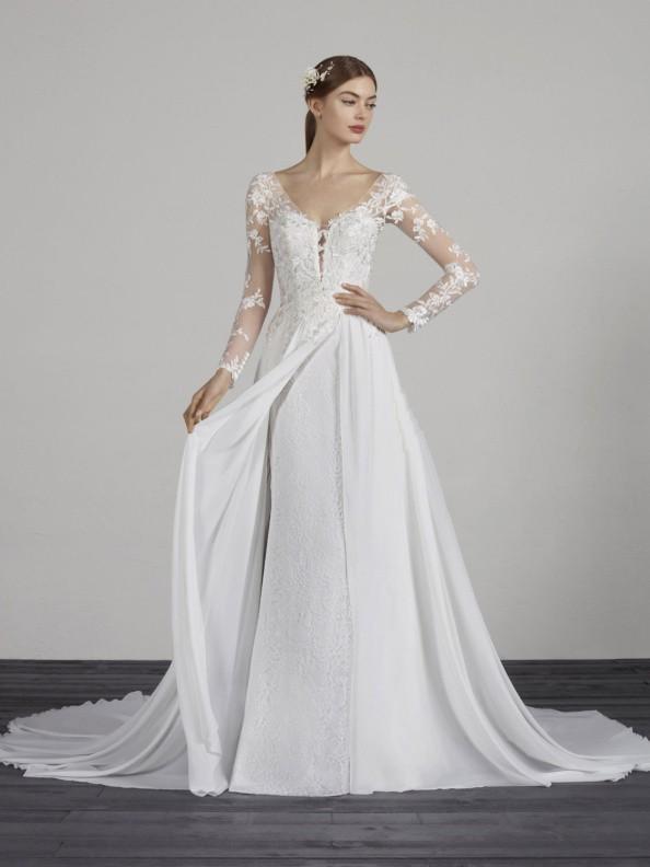 Svatební šaty Pronovias Merce 2019