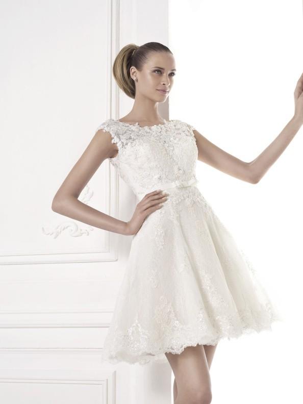Svatební šaty Pronovias Messina 2015