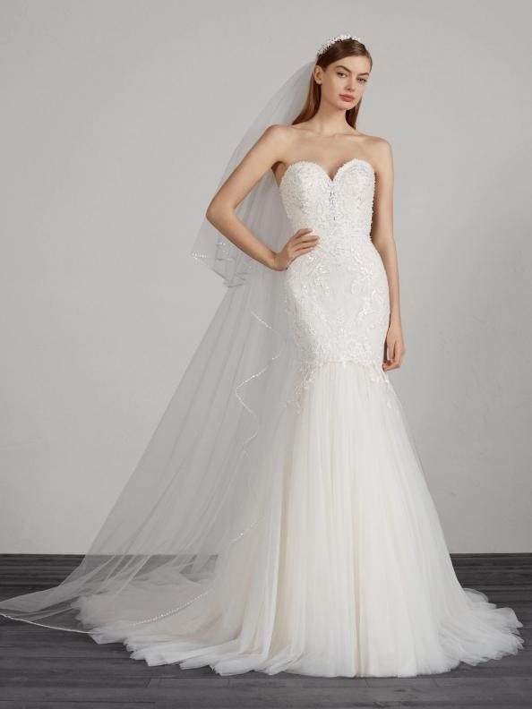 Svatební šaty Pronovias Miler 2019
