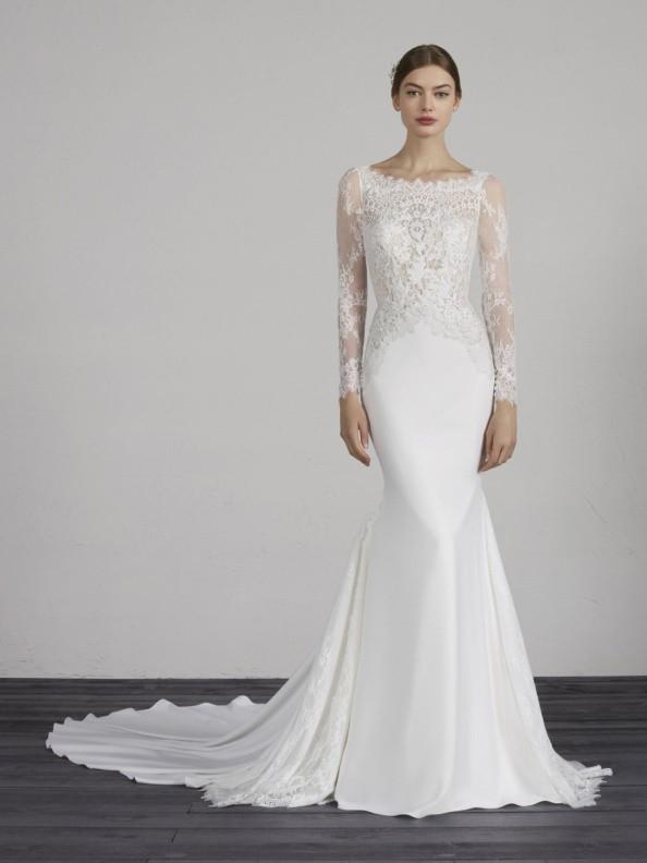Svatební šaty Pronovias Mistic 2019