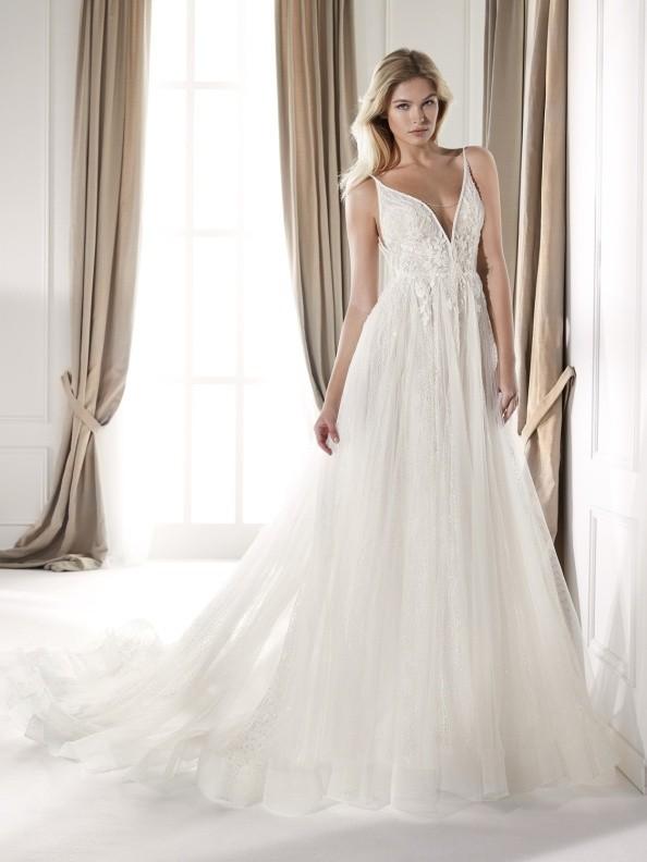 Svatební šaty Nicole Milano NIA20381 2020