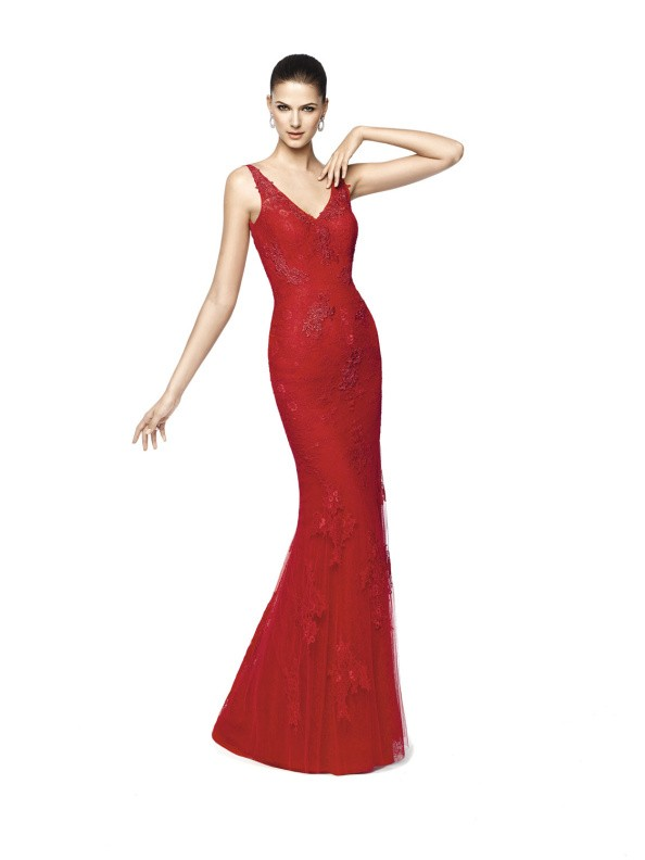 Společenské šaty Pronovias Nilia 2015