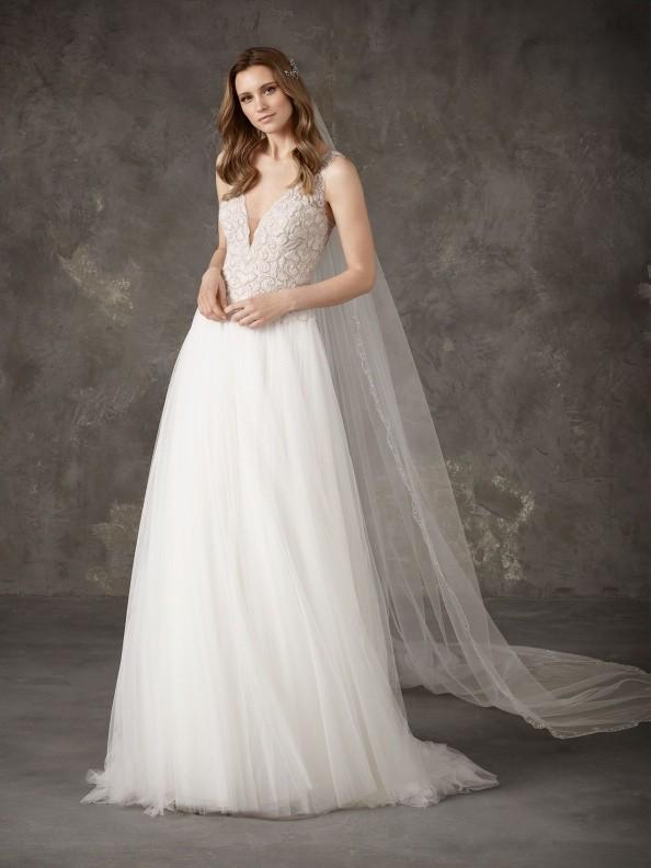 Svatební šaty Pronovias Nisela 2019