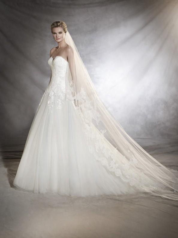 Svatební šaty Pronovias Oblea 2018