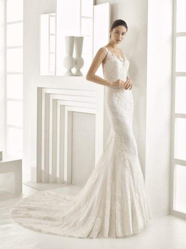 Svatební šaty Rosa Clará Obsequito 2018