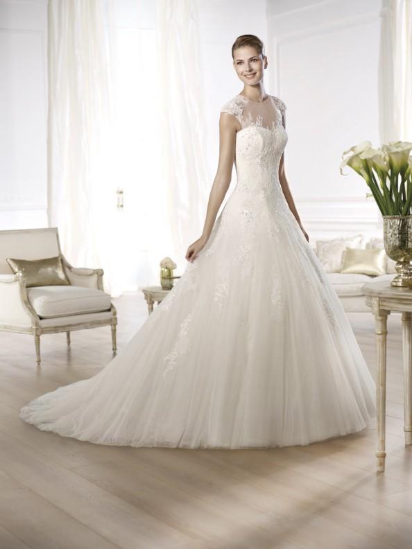Svatební šaty Pronovias Ocelada 2015