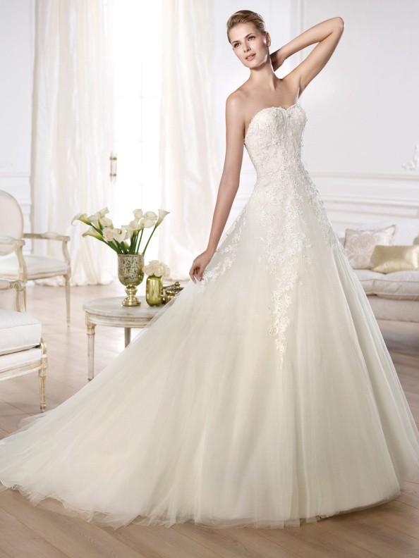 Svatební šaty Pronovias Olaya 2015