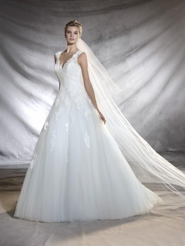 Svatební šaty Pronovias Olegaria 2018