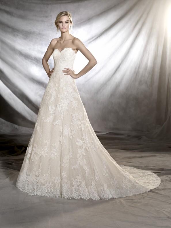 Svatební šaty Pronovias Onia 2019