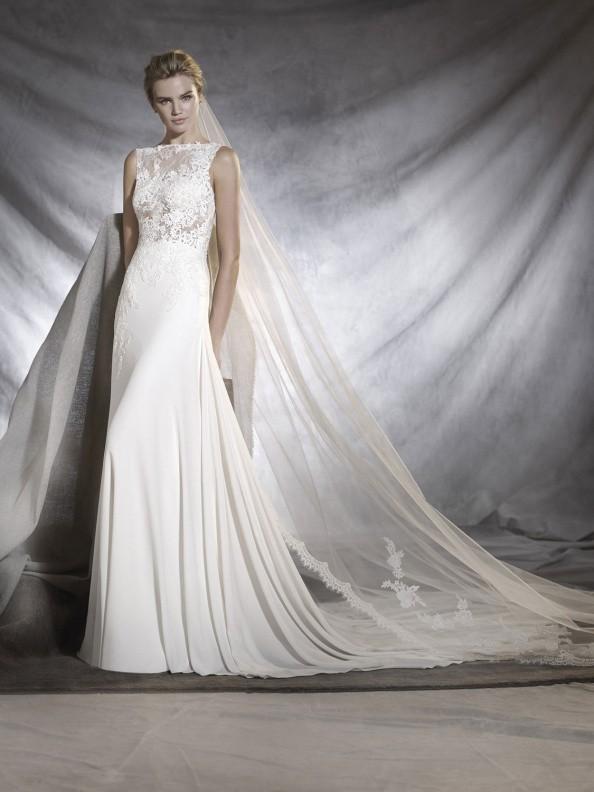 Svatební šaty Pronovias Oseleta 2018
