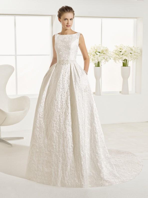 Svatební šaty Rosa Clará Osma 2017