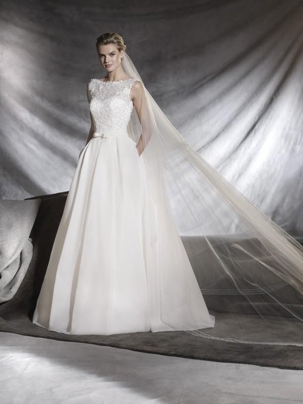 Svatební šaty Pronovias Ovega 2017