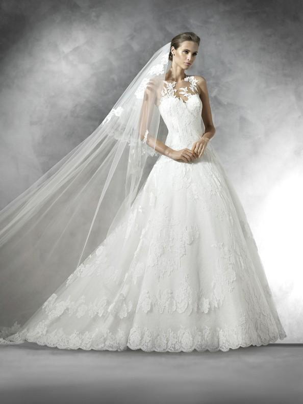 Svatební šaty Pronovias Plania 2017