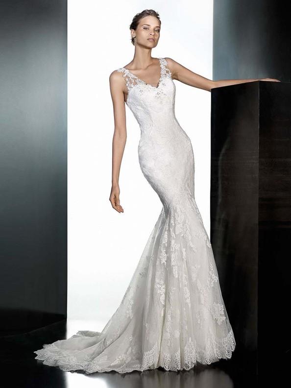 Svatební šaty Pronovias Pradera 2016