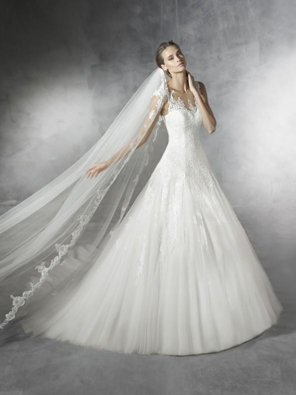Svatební šaty Pronovias Pramola 2018