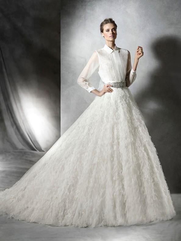 Svatební šaty Pronovias Proais 2016