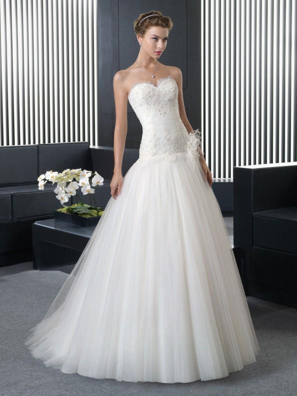 Svatební šaty Rosa Clará Ramir 2016