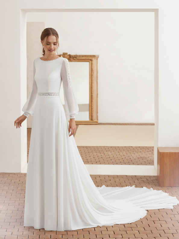 WEDDING DRESSES Rosa Clará RC Agata 2021
