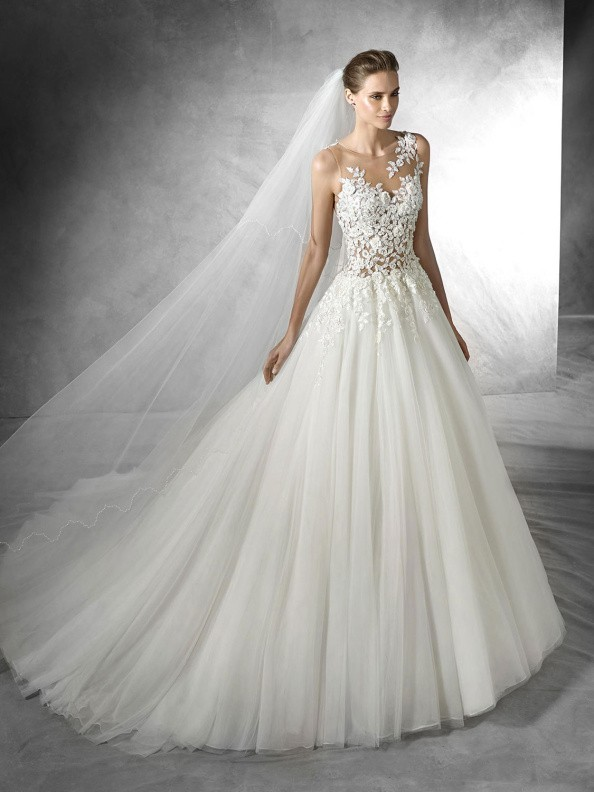 Svatební šaty Pronovias Taciana 2016