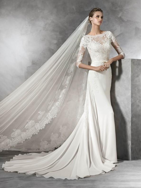 Svatební šaty Pronovias Tane 2017