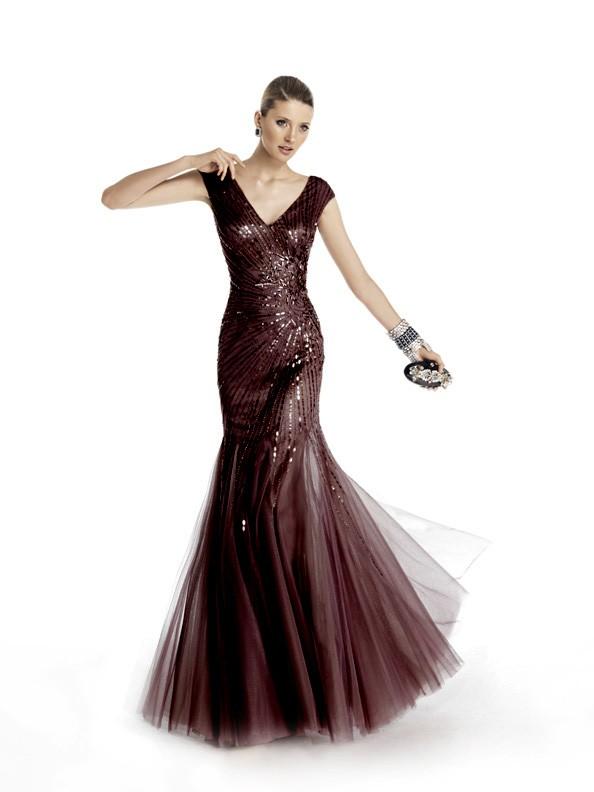 Společenské šaty Pronovias Taona Black 2016