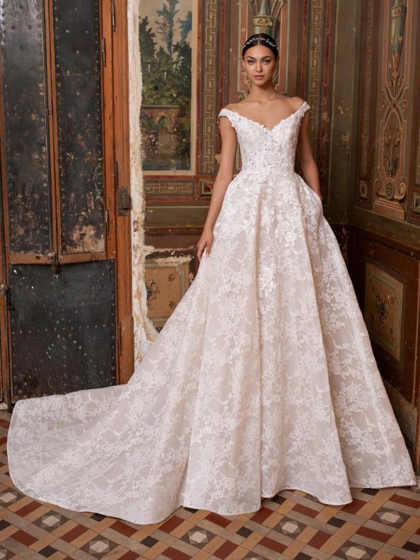 Svatební šaty Pronovias Thebe 2020
