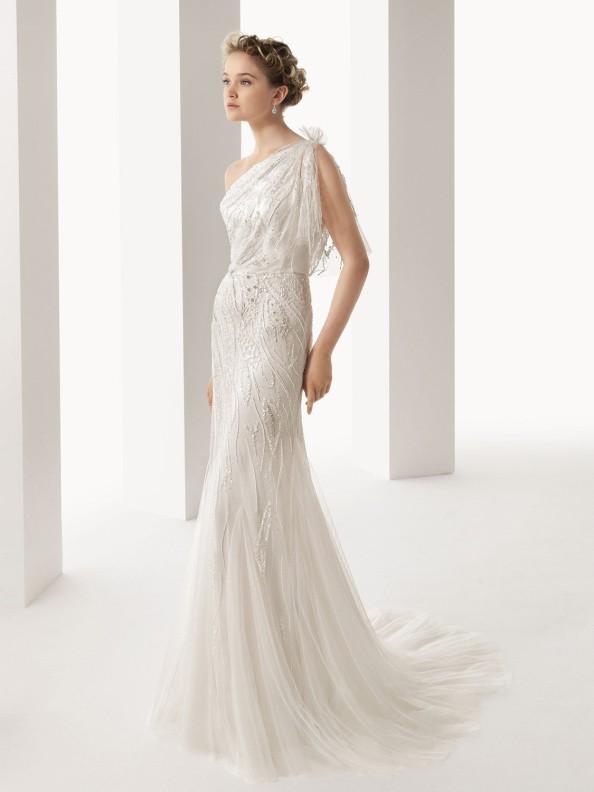 Svatební šaty Rosa Clará Ucraina 2018