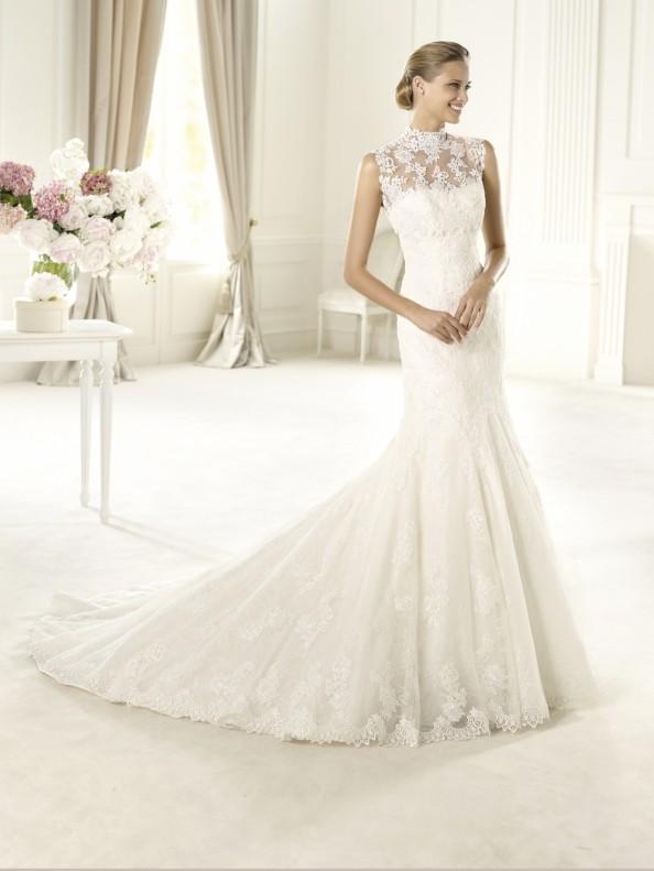 Svatební šaty Pronovias Urdiel 2015