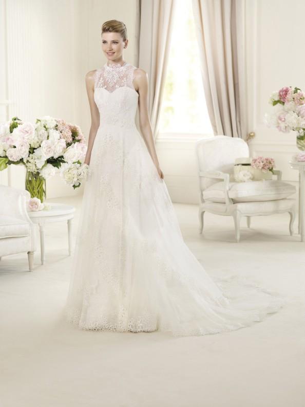 Svatební šaty Pronovias Urundey 2015