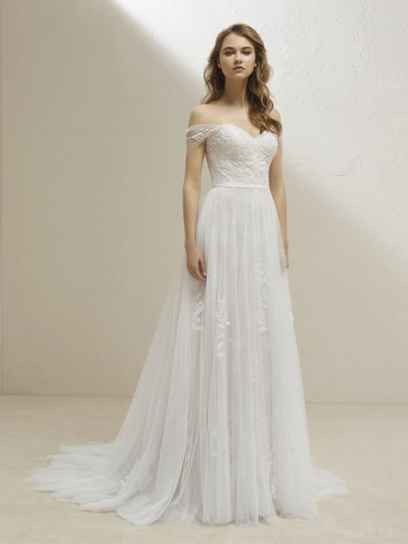 Svatební šaty Pronovias Vesper 2019