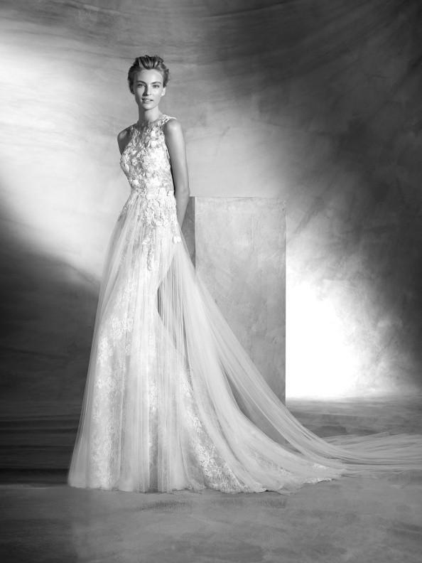 Svatební šaty Atelier Pronovias Vintage 2017