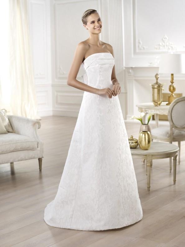Svatební šaty Pronovias Yeray 2015